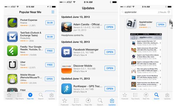 Apps aktualisieren