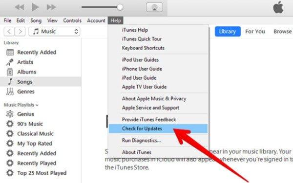 Fix iTunes Error 2 When You Cannot Update or Install iTunes