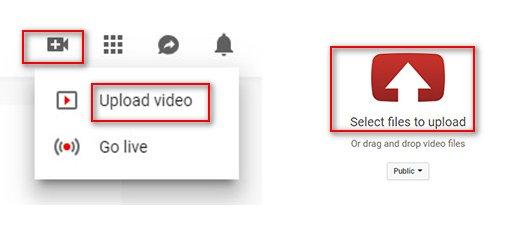 iMovieでエクスポートされたビデオファイルをアップロードする