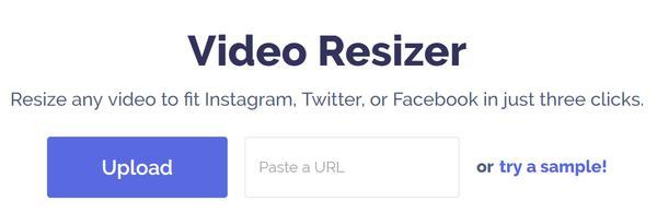 Importer ou coller l'URL de la vidéo