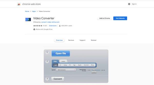 Video Converter-Erweiterung