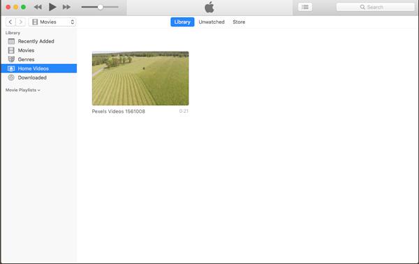 Vidéo iTunes