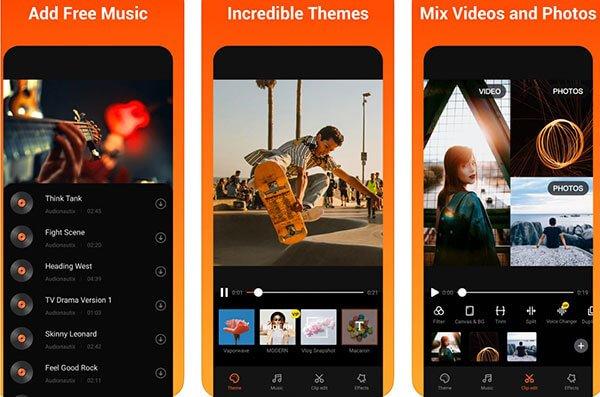 Vivavideoスライドショーアプリ