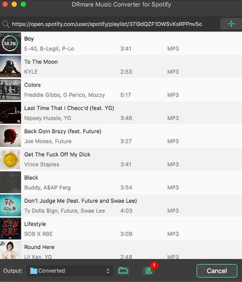 Konvertieren Sie Spotify in MP3