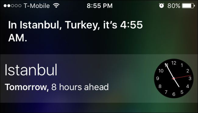 What is time Siri