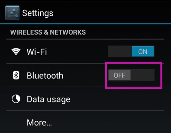 Transfert Wifi