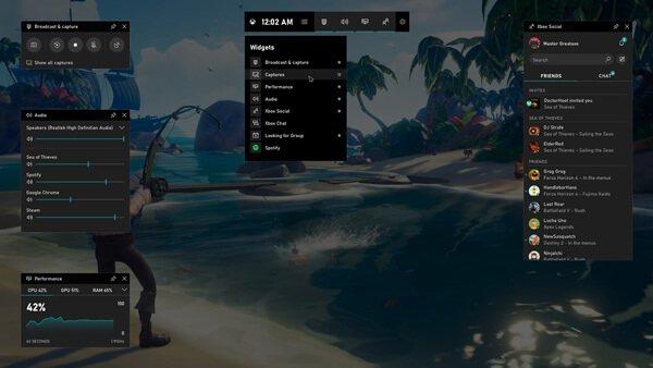 Xbox-Spielleiste