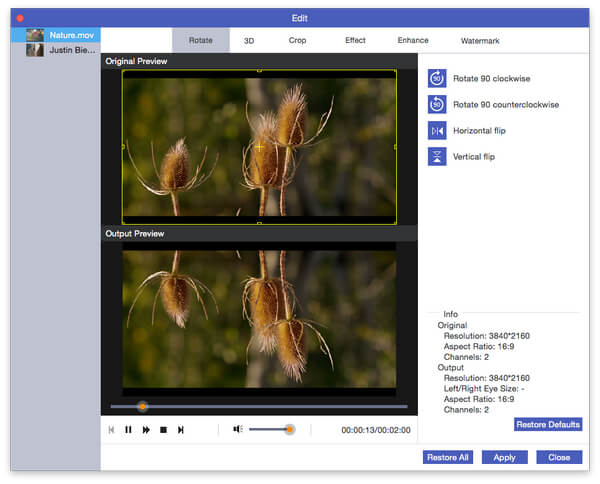 Video converter ultimate to edit enhance and convert videos rotate video ccuart Images