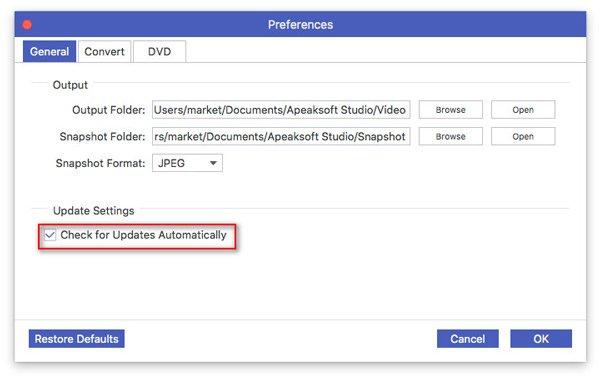 Software automatisch aktualisieren