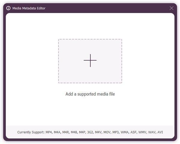 Medien-Metadaten-Editor