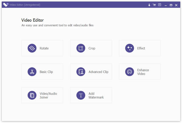 Click to view Apeaksoft Video Editor 1.0.16 screenshot