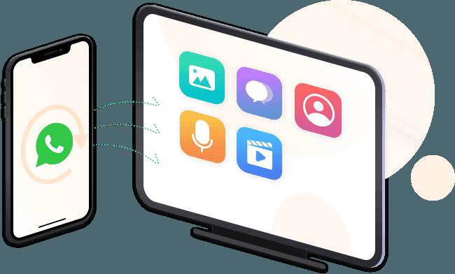 WhatsApp-Daten sichern