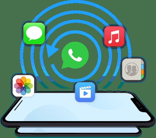 Stellen Sie WhatsApp-Backups wieder her