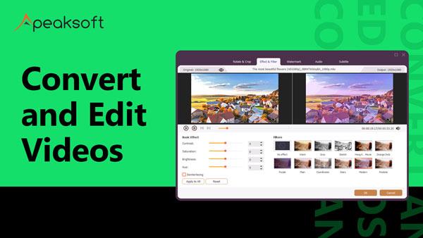 Videos konvertieren und bearbeiten