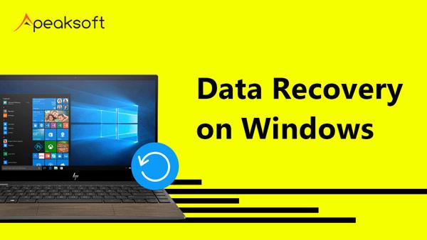 Datenwiederherstellung unter Windows